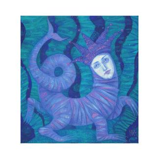 Melusine, Melusina, fantasy, surreal, water spirit Canvas Print