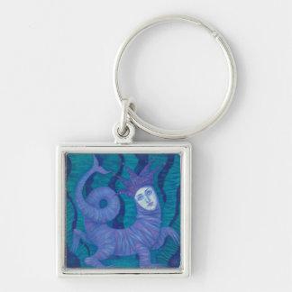 Melusine, Melusina, fantasy, surreal, water spirit Key Ring