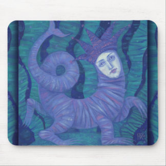 Melusine, Melusina, fantasy, surreal, water spirit Mouse Pad