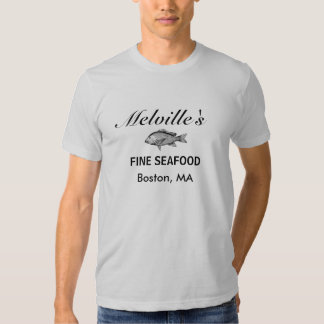 Melville's Fine Seafood Tee Shirts