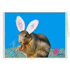 Melvin Cottontail Greeting Card