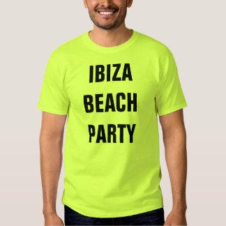 Melvis' Ibiza Beach Party T Shirt