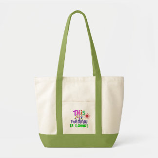 Memaw Grandmother Tote Bag