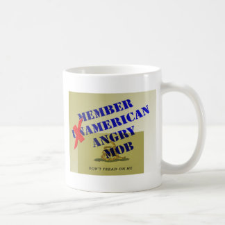 MEMBER American Angry Mob Basic White Mug