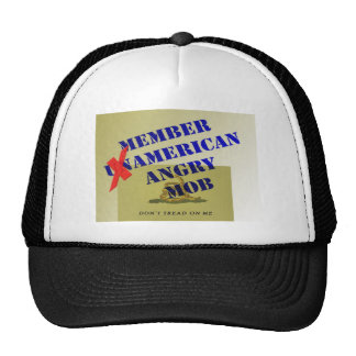 MEMBER American Angry Mob Mesh Hat