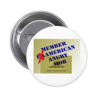 MEMBER American Angry Mob Pin