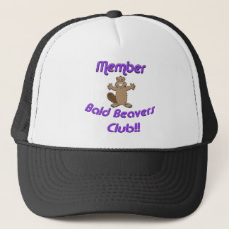 Member Bald Beavers Club Trucker Hat