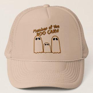 Member of the BOO CREW Funny Ghost Design Cap