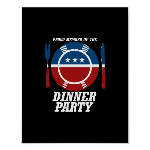 Member of the Dinner Party -.png Posters