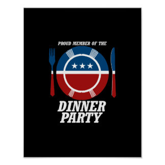 Member of the Dinner Party -.png Poster