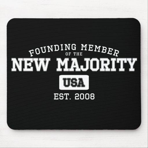 Member of the New Majority - Political Mousepad