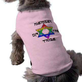 Member of the Tribe Dog Shirts