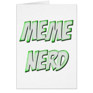 Meme Nerd Green Card