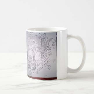 Memento Mori Basic White Mug