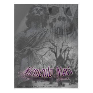 memento mori postcard 2