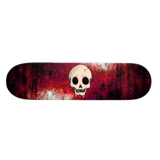 Memento Mori Skull Custom Skateboard