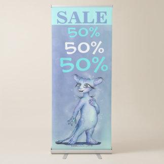 MEMO ALIEN SALE Vertical Retractable Banner