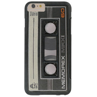 Memorex Audio Cassette Tape MRX 60 Barely There iPhone 6 Plus Case