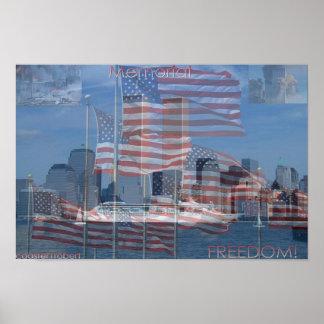 memorial 911 poster