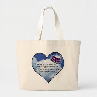 Memorial Butterfly Poem Bags