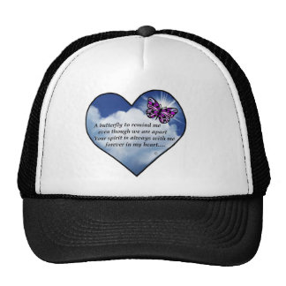 Memorial Butterfly Poem Trucker Hat