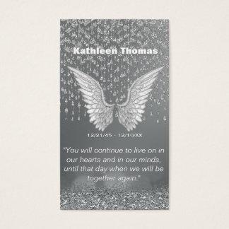 Memorial Card | Silver Tears