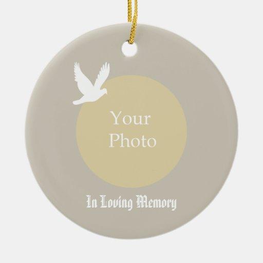 Memorial Christmas Ornament - In Loving Memory