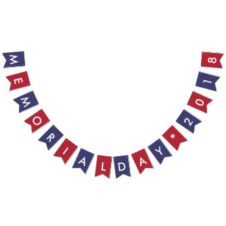 Memorial Day 2018 American Flag Colors
