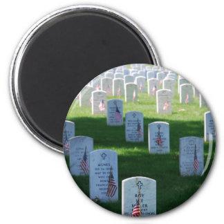 Memorial Day 6 Cm Round Magnet