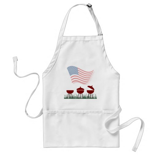 Memorial Day Barbeque Cookout Aprons
