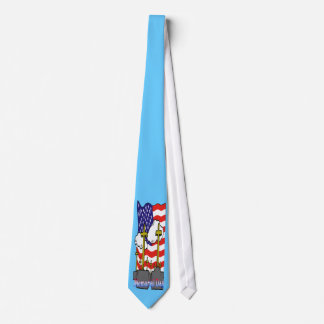 Memorial Day - Flag Gravestone Tie