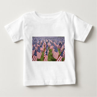 Memorial Day Flags Baby T-Shirt