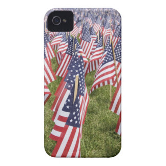 Memorial Day Flags iPhone 4 Case-Mate Case