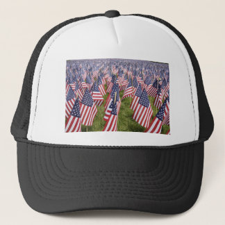 Memorial Day Flags Trucker Hat