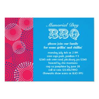 Memorial Day Holiday BBQ Invitation