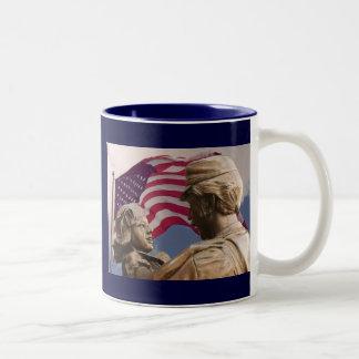 Memorial Day Homecoming Two-Tone Coffee Mug