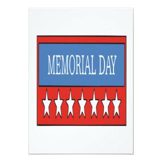 Memorial Day Custom Announcement