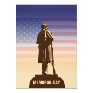 Memorial Day Personalized Invitations