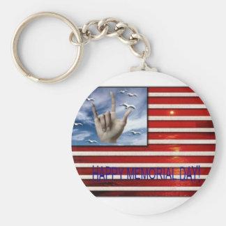 Memorial Day Key Chain
