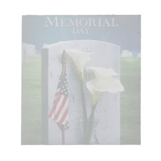 Memorial Day Notepad