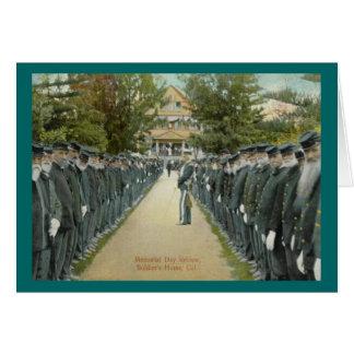 Memorial Day Review Greeting Card