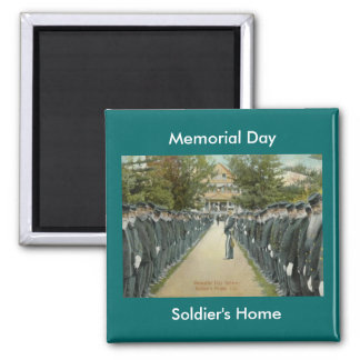Memorial Day Review Soldiers Home Magnet