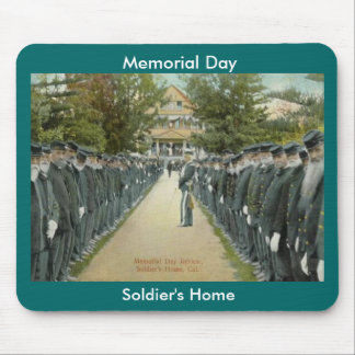 Memorial Day Review Soldiers Home Mouse Pad