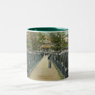 Memorial Day Review Two-Tone Mug