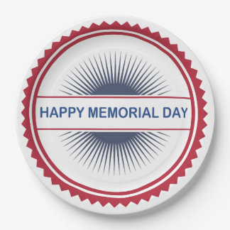 Memorial Day Style Memorial Day Party Paper Plates