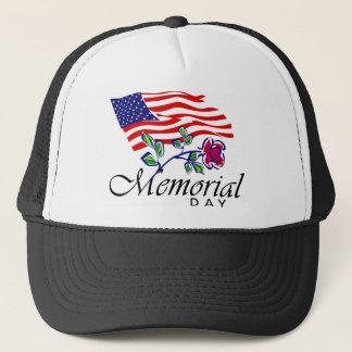 Memorial Day Trucker Hat