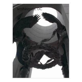 Memorial Eagles Postcard