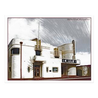Memorial Hall, Mosman Park Postcard