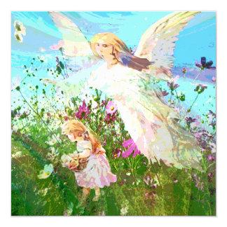 Memorial Invitation | Guardian Angel