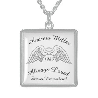 Memorial Keepsake Custom Pendant